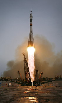 Soyuz TMA-14 launch
