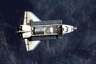 STS-108 im Orbit