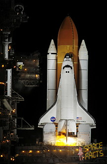 STS-116 on launch pad