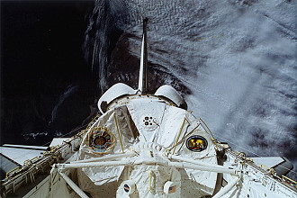 STS-65 im Orbit