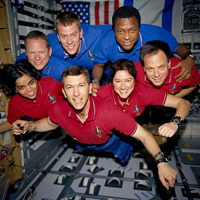 traditional in-flight photo STS-107
