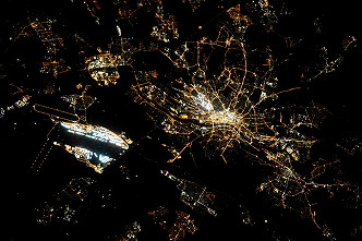 Frankfurt / Main by night
