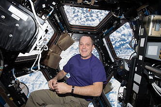 Arnold inside Cupola