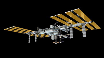 ISS as of October 22, 2013