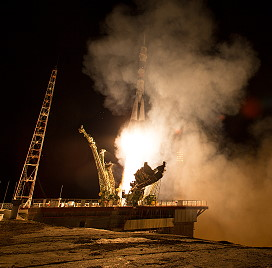 Soyuz TMA-17M launch