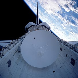 STS-30 in orbit