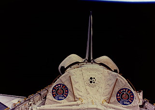 STS-51B in orbit