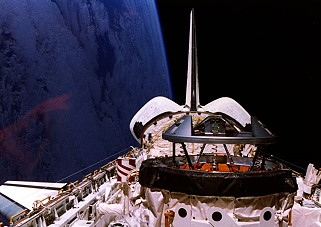 STS-74 in orbit