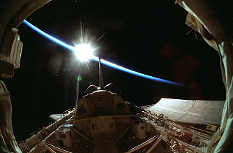 STS-90 in orbit